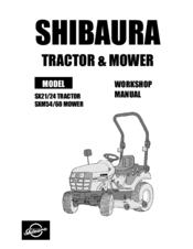 Shibaura SX24 Manuals