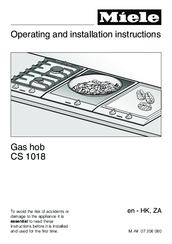 Miele CS 1018 Manuals