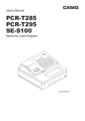 Casio SE-S100 Manuals