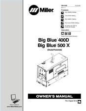 Miller Big Blue 400D Manuals