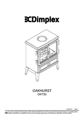Dimplex OAKHURST OKT20 Manuals