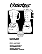 Oster OSTERIZER Manuals