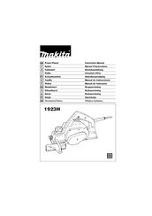 Makita 1923H Manuals