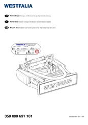 Westfalia Portilo 350000 Manuals