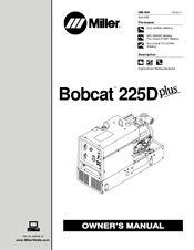 Miller Bobcat 225D PLUS Manuals