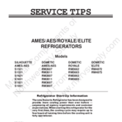 Dometic Rm2611 Wiring Diagram Thetford Toilet Manuals Service Tips Manual