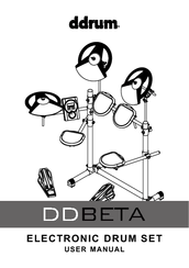Ddrum DD BETA Manuals