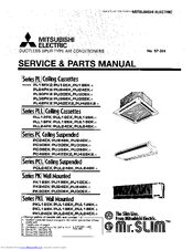 Mitsubishi Electric PU42EK2 Manuals