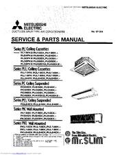Mitsubishi Electric Mr.Slim PU18EK Manuals