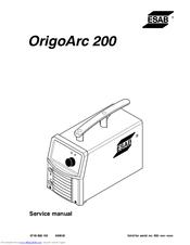 Esab OrigoArc 150 Manuals