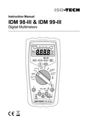 Iso-tech IDM 99-III Manuals