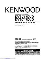 Kenwood KVT-747DVD Manuals