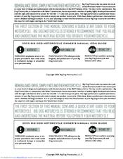 2005 big dog bulldog wiring diagram diagrams for subwoofers motorcycles owner s manual pdf download