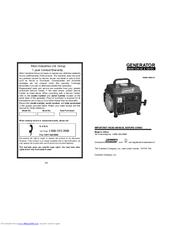 Coleman CM04101 Manuals