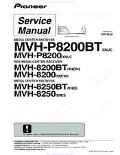 Pioneer MVH-8200 Manuals