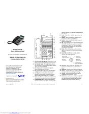 Nec DT730 Manuals