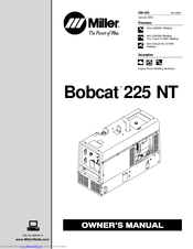 Miller Bobcat 225 NT Manuals