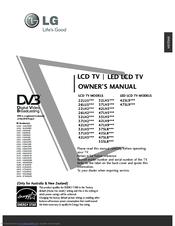 Lg 32LH2*** series Manuals