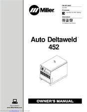 Miller Auto Deltaweld 452 Manuals