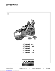 Dolmar 111 Manuals