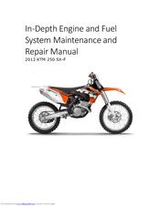 Ktm 2012 250 SX-F Manuals
