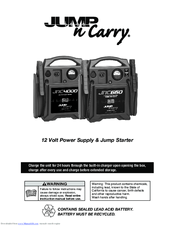 Jump-n-carry JNC660 Manuals