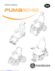 Handicare PUMA 40 Manuals