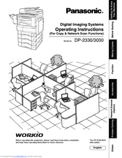Panasonic Workio DP-3030 Manuals