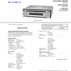 Sony Cdx L350 Wiring Diagram Electrical Wire Symbols Service Manual Pdf Download