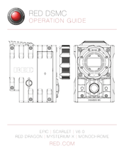 Red EPIC-X DRAGON Manuals
