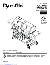Dyna-glo DGJ810CSB-D Manuals