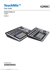 Qsc TouchMix-16 Manuals