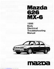 Mazda 1996 626 Manuals