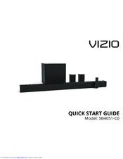 Vizio SB4051-C0 Manuals