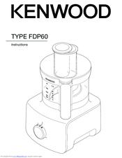 Kenwood FDP60 Manuals