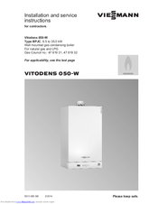 viessmann boiler wiring diagrams land cruiser electrical diagram vitodens 050 w installation and service instructions manual pdf download