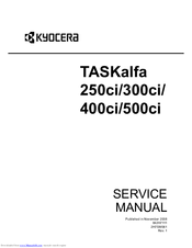 Kyocera TASKalfa 400ci Manuals