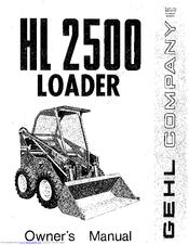 Gehl HL 2500 Manuals