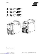 Esab Aristo 500 Manuals
