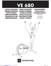 Domyos VE 680 Manuals