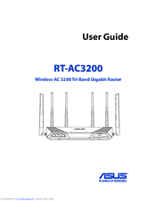 Asus RT-AC3200 Manuals