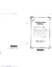 Welbilt ABM2200T Manuals