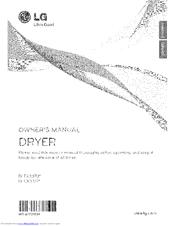 Lg DLGX3371 Series Manuals