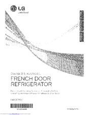 Lg LFXS29766 Manuals