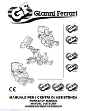 Gianni Ferrari PG 180 Manuals
