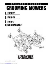 Frontier FM1015 Manuals
