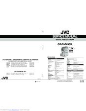 Jvc GR-DVM90U Manuals
