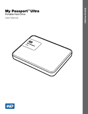 Western Digital My Passport Ultra Manuals
