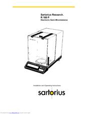 Sartorius R 300S Manuals