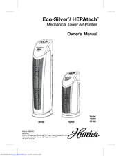 Hunter 30100 Manuals